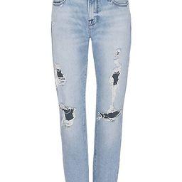Le Garcon Distressed Boyfriend Jeans   Saks Fifth Avenue