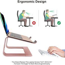 Laptop Stand, Ergonomic Aluminum Laptop Mount Computer Stand, Detachable Laptop Riser,Notebook ...   Amazon (CA)