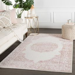 McCulloch Oriental Pink/White Area Rug   Wayfair Professional