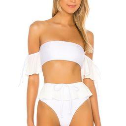 Tularosa Kimber Top in White from Revolve.com | Revolve Clothing (Global)