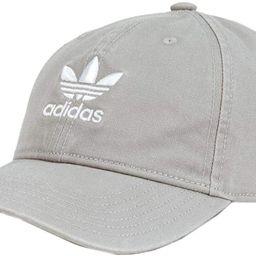 adidas Originals Relaxed Gray Strapback Hat | Amazon (US)