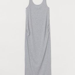 MAMA Ribbed Jersey Dress   H&M (US)