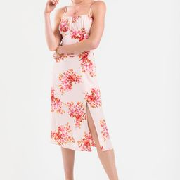 Sherry Floral Midi Dress | Francesca's Collections
