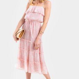 Candice Floral Flounce Maxi Dress | Francesca's Collections
