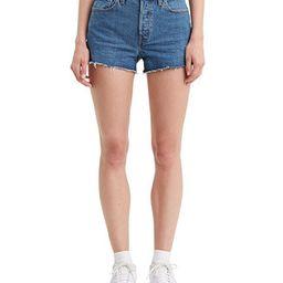 Women's 501 Cotton High-Rise Denim Shorts   Macys (US)