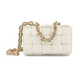 The Chain Cassette Padded Leather Shoulder Bag   Saks Fifth Avenue