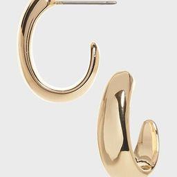 Minimalist Metal Earrings   Banana Republic Factory