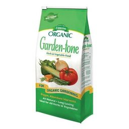 Espoma 8 lb. Organic Garden Tone Herb and Vegetable Food-100047170 - The Home Depot | The Home Depot