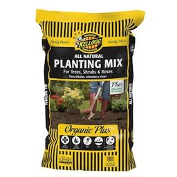 Kellogg Garden Organics 1.5 cu. ft. All Natural Planting Mix for Trees, Shrubs and Roses-6160 - T... | The Home Depot