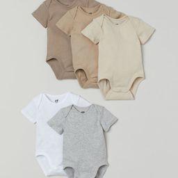 5-pack Bodysuits | H&M (US)