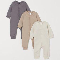 3-pack Cotton Jumpsuits | H&M (US)