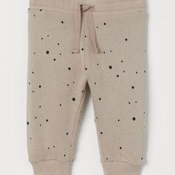 Cotton Sweatpants   H&M (US)