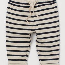 Cotton Pants   H&M (US)