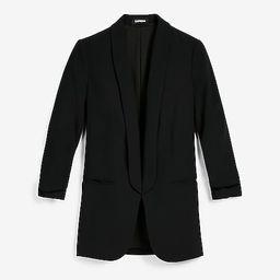 Rolled Sleeve Boyfriend Blazer | Express