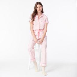 Vintage short-sleeve pajama set | J.Crew US