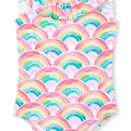 Kids' Over the Rainbow One-Piece Swimsuit   Nordstrom