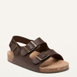 Faux-Leather Double-Buckle Sandals for Toddler   Old Navy (US)
