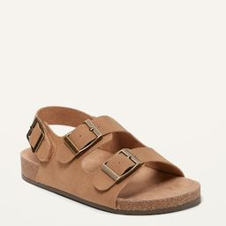 Faux-Leather Double-Buckle Sandals for Baby   Old Navy (US)