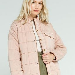 O'NEILL Mable Womens Quilted Jacket   Tillys