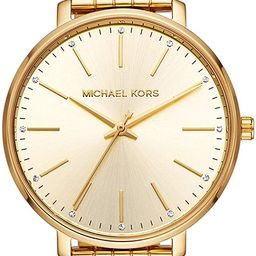 Michael Kors Pyper Three-Hand Stainless Steel Watch   Amazon (US)