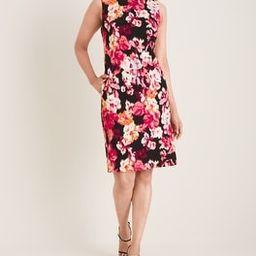 Floral-Print Ponte Shift Dress | Chico's
