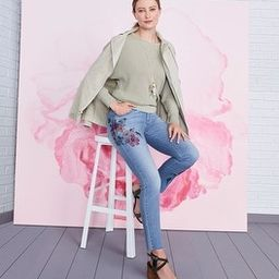 Floral Girlfriend Ankle Jeans | Chico's