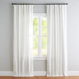 Emery Linen/Cotton Rod Pocket Blackout Curtain | Pottery Barn (US)
