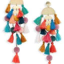 Stella + Ruby Calypso Tassel Drop Earrings | Nordstrom | Nordstrom