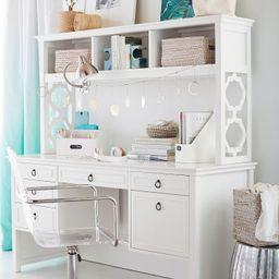 Elsie Storage Hutch Desk | Pottery Barn Teen