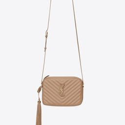 lou camera bag in quilted leather   Saint Laurent