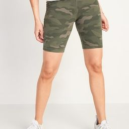 Extra High-Waisted Balance Biker Shorts for Women -- 8-inch inseam   Old Navy (CA)