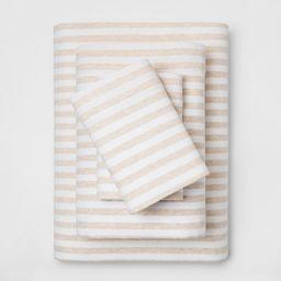 Cozy Brushed Printed Jersey Sheet Set - Threshold™ | Target