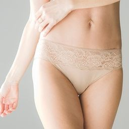 Microfiber with Lace Hipster   Soma Intimates
