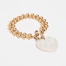 Heart On Your Sleeve Bracelet | Shopbop