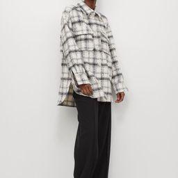 Plaid Shirt Jacket   H&M (US)