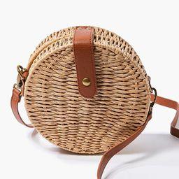 Basket-Woven Crossbody Bag | Forever 21 (US)