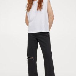 Straight High Ankle Jeans | H&M (AT, DK, DE, HU, NL, NO, FI, PO, SE)