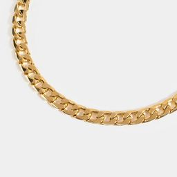 Iris Linked Curb Chain Necklace | Francesca's Collections