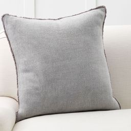 Willa Textured Fringe Pillow Covers | Pottery Barn (US)