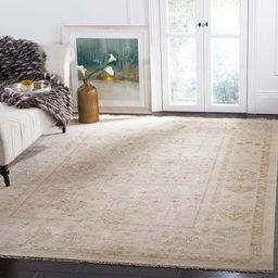 Safavieh Couture Hand-knotted Sultanabad Salli Traditional Oriental Wool Rug with Fringe - 9' x 1...   Overstock