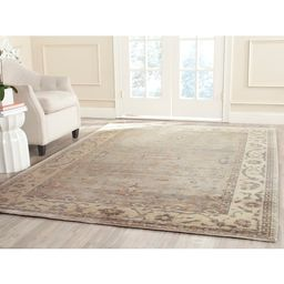 Safavieh Couture Hand-knotted Oushak Podgorka Traditional Oriental Wool Rug with Fringe - 9' x 12...   Overstock