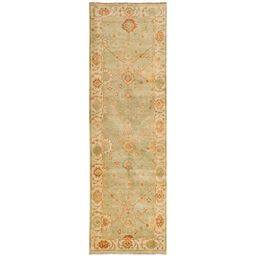 Safavieh Couture Hand-knotted Oushak Tonna Traditional Oriental Wool Rug with Fringe   Overstock