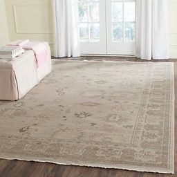 Safavieh Couture Hand-knotted Oushak Pietrix Traditional Oriental Wool Rug with Fringe   Overstock