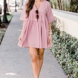 Confidence In Us Babydoll Blush Dress   The Pink Lily Boutique