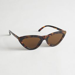Cat Eye Sunglasses   & Other Stories