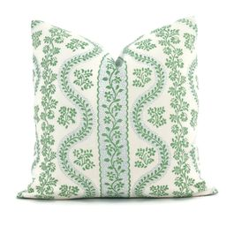 Decorative Pillow Cover Sister Parish Dolly in Green Pillow cover,  Toss Pillow, Accent Pillow, T...   Etsy (US)