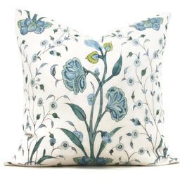 Schumacher Peacock Khilana Decorative Pillow Cover 18x18, 20x20 or 22x22, Eurosham 14x20 or 12x24...   Etsy (US)