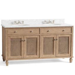 "Sausalito 60"" Double Sink Bath Vanity   Pottery Barn (US)"