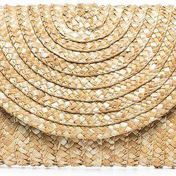 Straw Clutch Purse, JOSEKO Women Straw Envelope Bag Wallet Summer Beach Handbag Beach Clutch Purs...   Amazon (US)