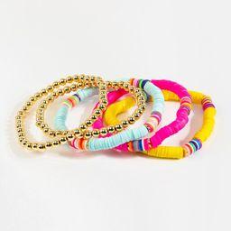 Avah Beaded Bracelet Set | Francesca's Collections